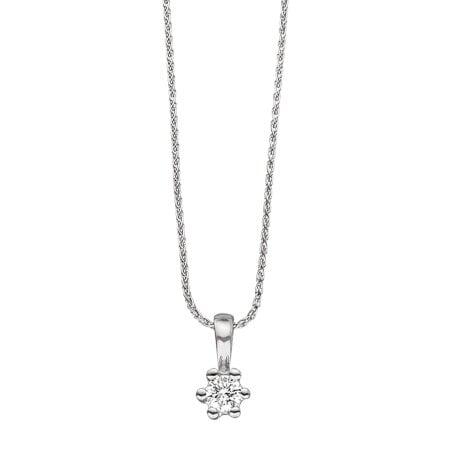 Juwelier Kraemer Anhänger Diamant 585/ - Gold – 0,09 ct