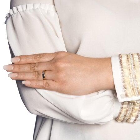 Juwelier Kraemer Ring Diamant 333/ - Gold – ca. 0,07 ct – 52 mm