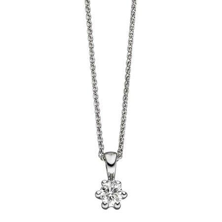 Juwelier Kraemer Kette Diamant 585/ - Gold – ca. 0,22 ct