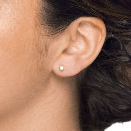 Juwelier Kraemer Ohrringe Diamant 585/ - Gold – ca. 0,22 ct