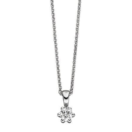 Juwelier Kraemer Anhänger Diamant 585/ - Gold – ca. 0,18 ct