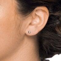 Juwelier Kraemer Ohrringe Diamant 585/ - Gold – zus. ca. 0,13 ct