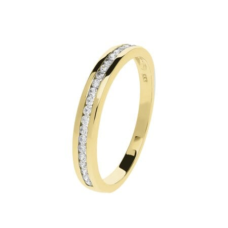 Juwelier Kraemer Ring Zirkonia 333/ - Gold – 54 mm