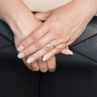 Juwelier Kraemer – Ring Zirkonia Gold 333/ - Gold