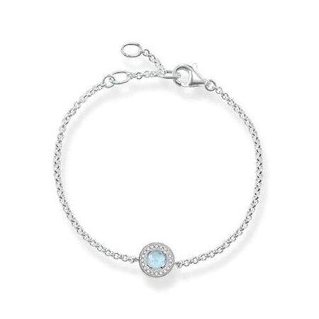 Thomas Sabo Armband Zirkonia Luna – A1334-694-31-L19,5v