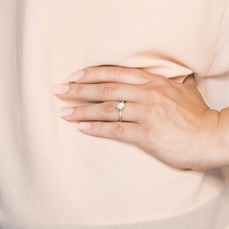 Juwelier Kraemer Ring Zirkonia 333/ - Gold – 56 mm