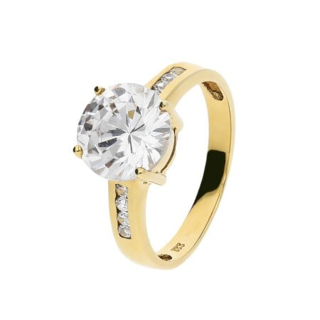 Juwelier Kraemer Ring Zirkonia 333/ - Gold – 52 mm