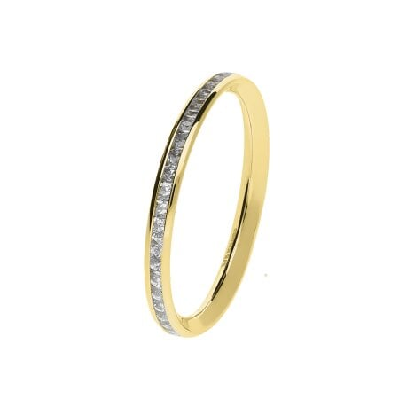 Juwelier Kraemer Ring Zirkonia 375/ - Gold – 50 mm