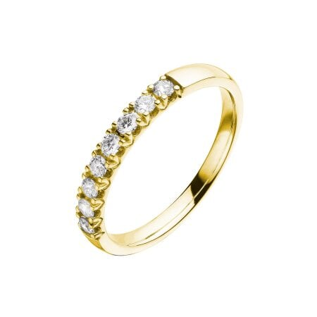 Juwelier Kraemer Ring Diamant 585/ - Gold – zus. ca. 0,30 ct – 56 mm