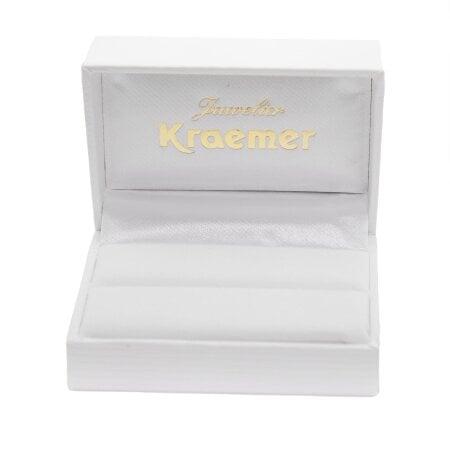 Juwelier Kraemer Trauring Diamant 585/ - Gold – zus. ca. 0,20 ct – 53 mm