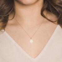 Juwelier Kraemer Kette Diamant 375/ - Gold | 0,004 ct