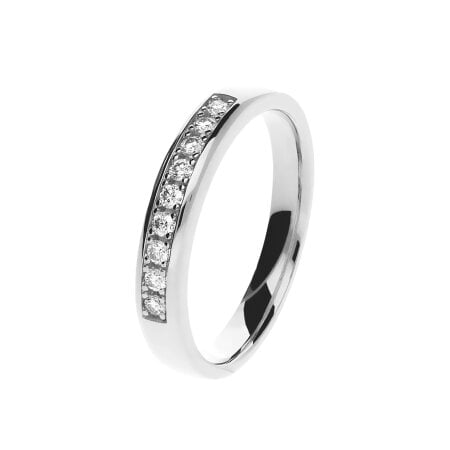 Juwelier Kraemer Ring Diamant 585/ - Gold – zus. ca. 0,15 ct – 54 mm