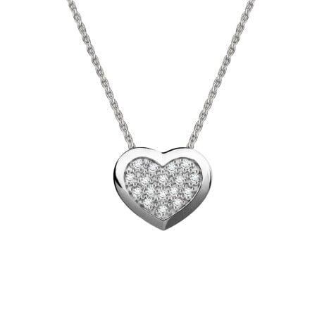 Juwelier Kraemer Kette Diamant 375/ - Gold – zus. ca. 0,08 ct