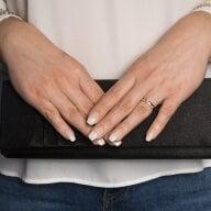 Juwelier Kraemer Ring Diamant 585/ - Gold – zus. ca. 0,20 ct – 56 mm