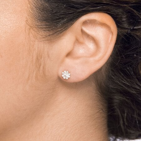 Juwelier Kraemer Ohrringe Diamant 585/ - Gold – zus. ca. 0,35 ct