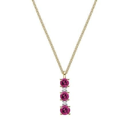 Juwelier Kraemer Kette Diamant 333/ - Gold – zus. ca. 0,01 ct