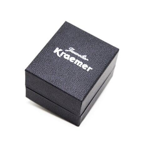 Juwelier Kraemer Ring Diamant 333/ - Gold – zus. ca. 0,01 ct – 54 mm
