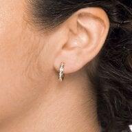 Juwelier Kraemer Ohrringe Diamant 585/ - Gold – zus. ca. 0,15 ct