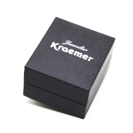 Juwelier Kraemer Ring Diamant 375/ - Gold – zus. ca. 0,10 ct – 54 mm