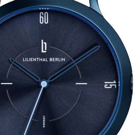 Lilienthal Berlin Uhr Urbania All Blue – L02-106-B003E