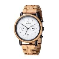 Kerbholz Uhr Johann Olivewood – WATWJOH9115
