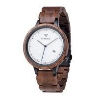Kerbholz Uhr Lamprecht Walnut Silver – WATWLAM9900