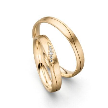 Juwelier Kraemer Trauringe BALI 585/ - Gold
