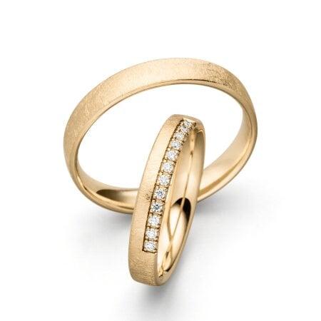 Juwelier Kraemer Trauringe HAVANNA 585/ - Gold