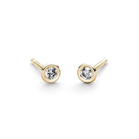 Juwelier Kraemer Ohrringe Diamant 585/ - Gold – 0,10 ct
