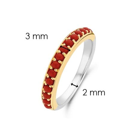 Ti Sento Milano Ring Vintage Elegance – 12123CR/52 – 52 mm