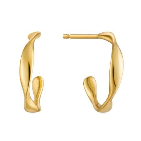 Ania Haie Ohrringe Twist Mini Hoop – E015-01G