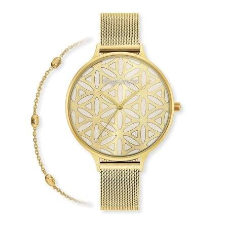 Engelsrufer Uhr+Armband Set Lebensblume – ERWO-LIFL-01