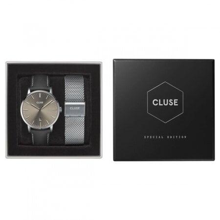 CLUSE Uhr Set  Avaris Silver+Mesh Strap – CG1519501001
