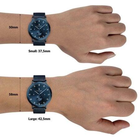 Lilienthal Berlin Uhr L1 All Blue SET – L01-108-B003E-B023E